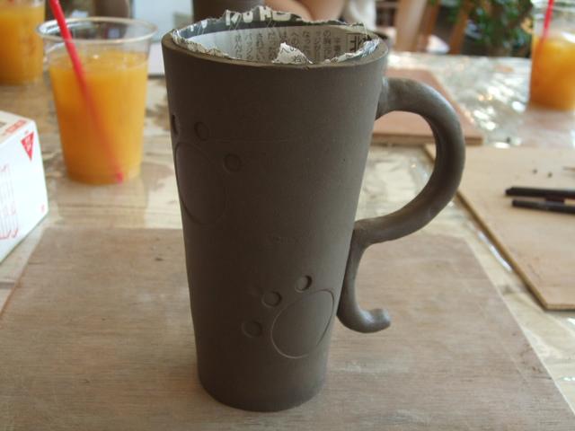 フリーカップ作り