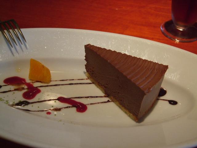 キャラメルチョコムース