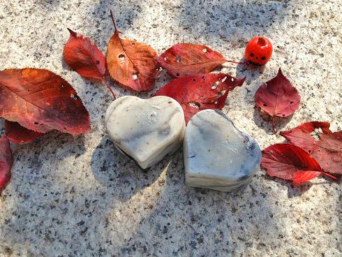 聖なる愛と美と豊穣の石けん ハート