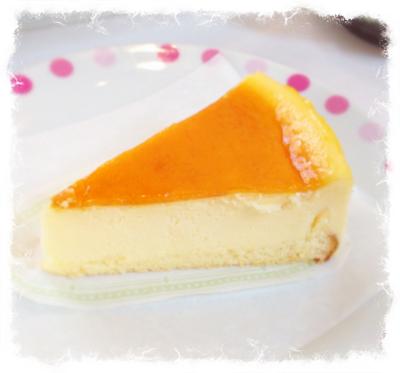 4皿目オリジナルチーズケーキ