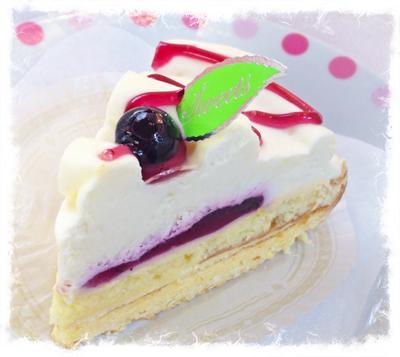 7皿目レアチーズケーキ(ブル
