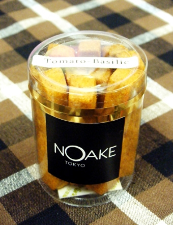 『NOAKE TOKYO(ノアケトーキョー)』のトマトのバジルのサブレ