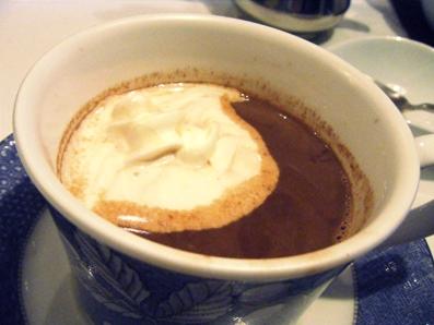 『一六珈琲店』のチョコレートドリンク