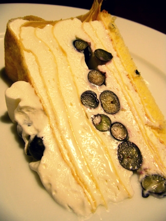 『ハーブス』のクリームチーズのミルクレープ