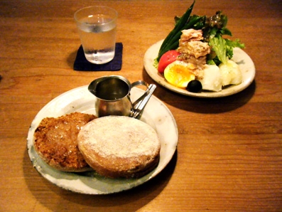 『CICOUTE CAFE(チクテカフェ)』のニース風サラダ