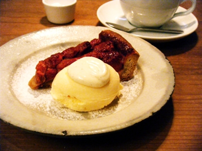 『CICOUTE CAFE(チクテカフェ)』の苺タルト