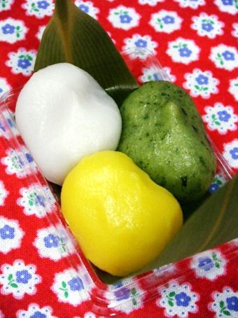 『銀座 甘楽(かんら)』の三色笹餅