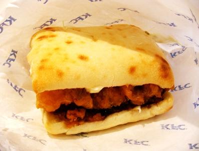 『ケンタッキー』のチキン南蛮サンド