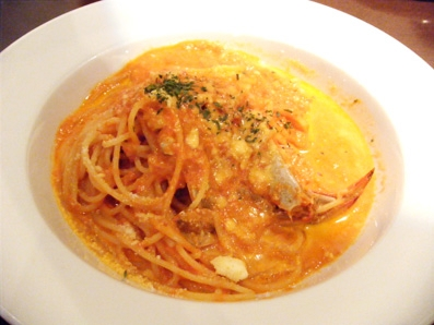 『エノテカ キャンティーナ』の渡り蟹のトマトクリーム