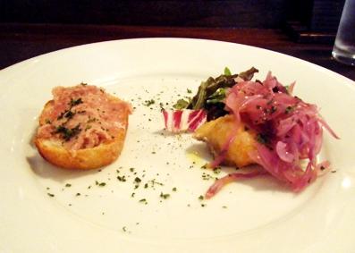 『LA LUCE(ラ・ルーチェ)』のフレッシュトマトとバジリコ