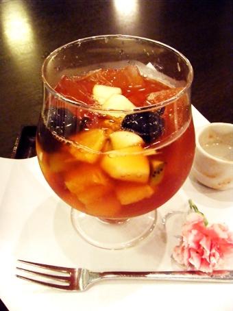『武蔵野茶房』のフルーツティ