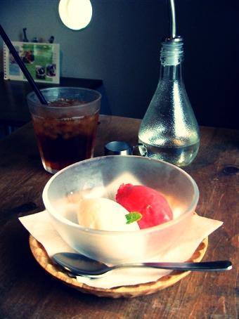2012_05_11 『ogawa cafe(オガワカフェ)』のソルベ