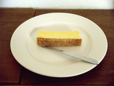 『ねじまき雲』のチーズケーキ