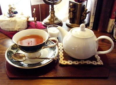 『喫茶去 一芯二葉(きっさこ いっしんによう)』のダージリン