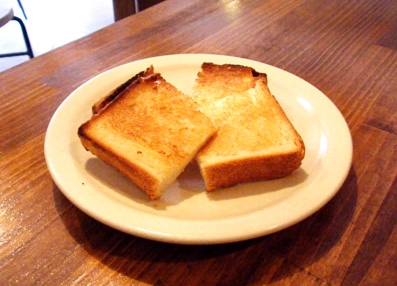 『ことりや』のバタートースト