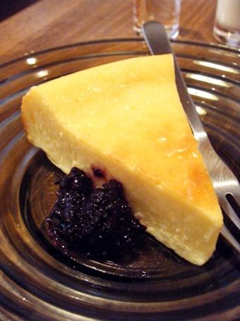 『ことりや』のベイクドチーズケーキ