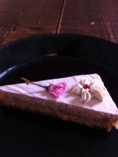 桜ショートケーキ