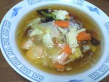 中華丼風ラーメン