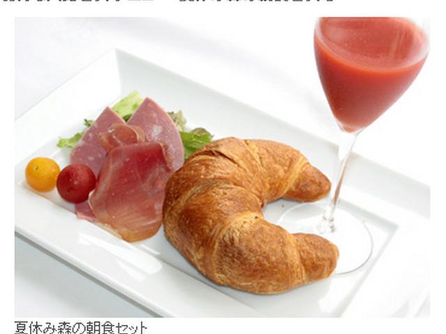 ガラスの森朝食