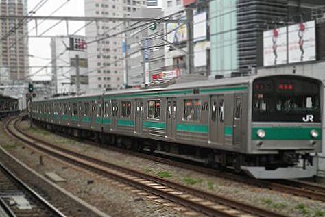 埼京線205系(2012年4月30日・五反田)