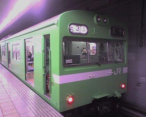 大ナラ103系(2010年1月5日・JR難波)