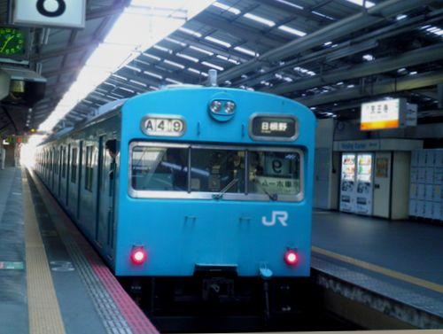 大ヒネ103系(2011年1月31日・天王寺)