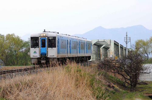 南寒河江~羽前長崎、2009年4月22日