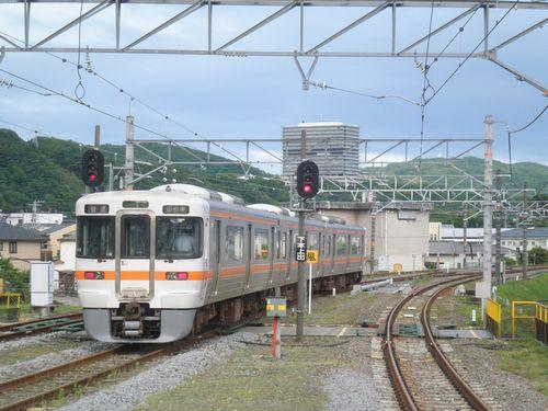 御殿場線313系(2012年6月9日・松田)