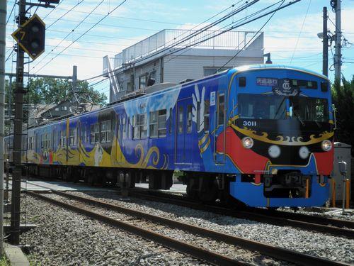 西武3011F・武蔵丘行臨時列車(2012年6月10日)・1