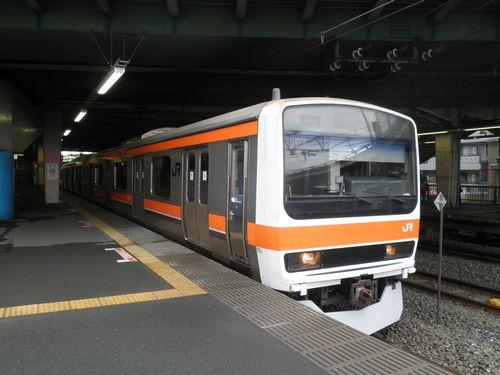 武蔵野線209系500番代(2012年6月17日)