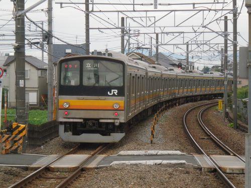 南武線205系(矢川・2012年6月17日)