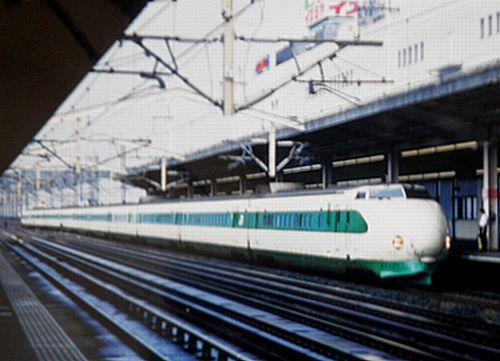 東北新幹線200系(2001年9月9日・小山)