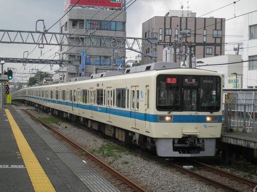 小田急8000形(2012年6月24日・伊勢原)