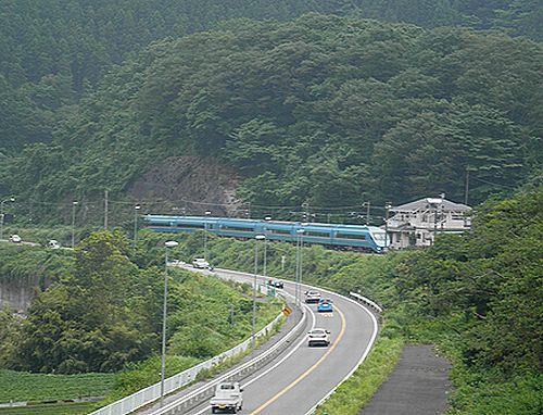 小田急6000形MSE「あさぎり」(2012年6月24日・谷峨)1