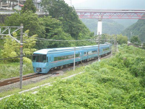 小田急6000形MSE「あさぎり」(2012年6月24日・谷峨)3