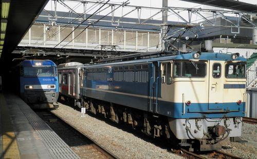 東急5050系甲種輸送(2012年6月26日・立川)