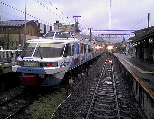 富士急行「フジサン特急」(2010年5月23日・大月)