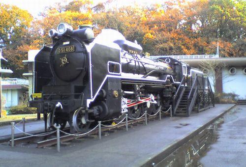 D51 408(川崎市生田緑地・2009年12月12日)