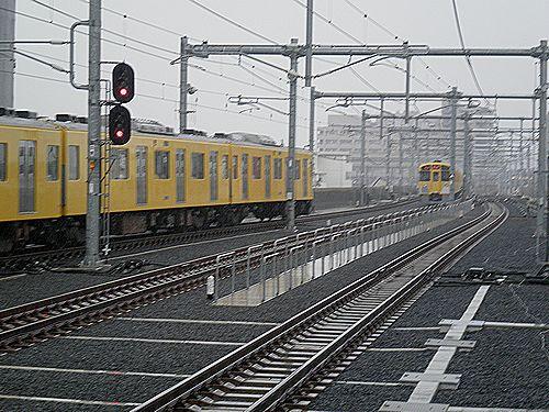 西武池袋線石神井公園駅(2012年7月3日)4