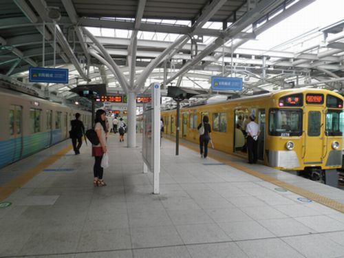 西武池袋線石神井公園駅(2012年7月3日)1