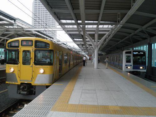 西武池袋線石神井公園駅(2012年7月3日)2