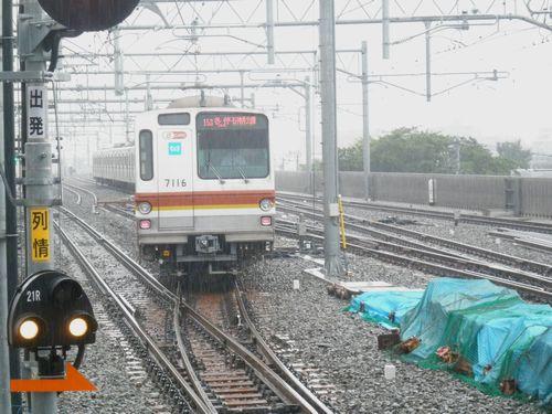 東京メトロ車「石神井公園」行(2012年7月3日)3