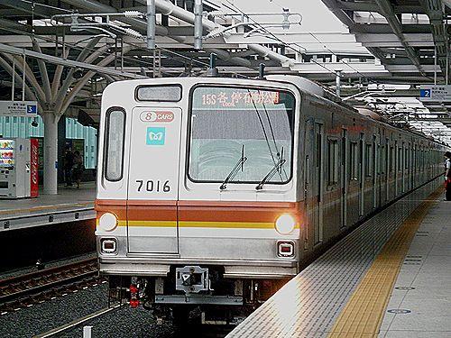 東京メトロ車「石神井公園」行(2012年7月3日)1
