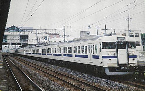 常磐線403・415系(2005年6月27日・藤代)