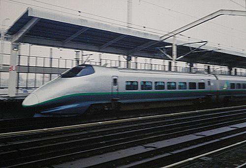 山形新幹線400系(2000年9月9日・小山)