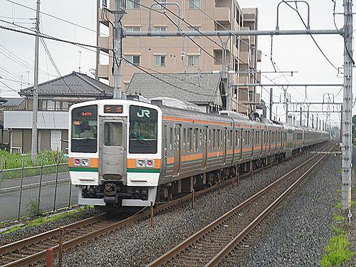 高タカ211系(2012年7月7日・新白岡)