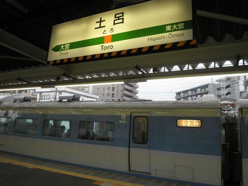 183系千マリ31編成修学旅行臨(2012年7月7日・土呂)3