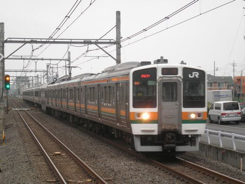 高タカ211系(2012年7月7日・北上尾)