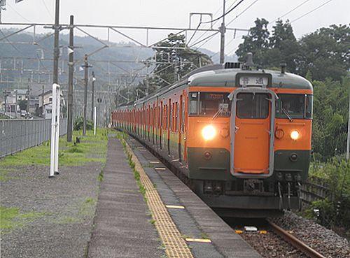 高タカ115系4連+4連(2012年7月7日・敷島)