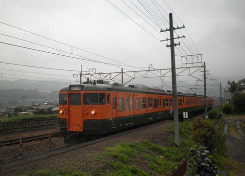 高タカ115系3連(2012年7月7日・敷島)